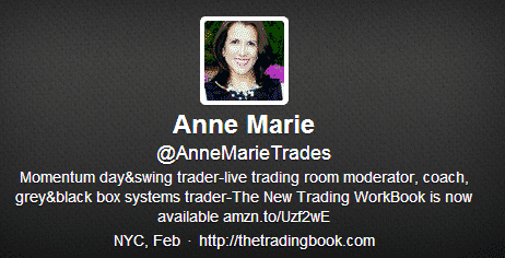 Anne Marie Trading Book Twitter