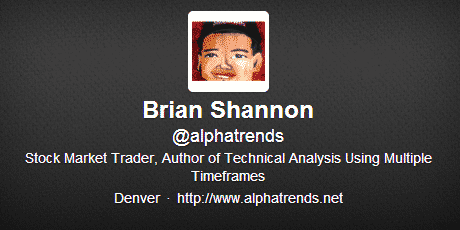 Brian Shannon Twitter