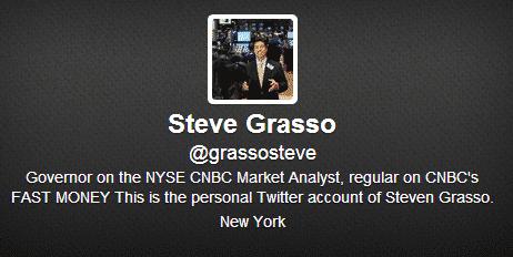 Steve Grasso Twitter